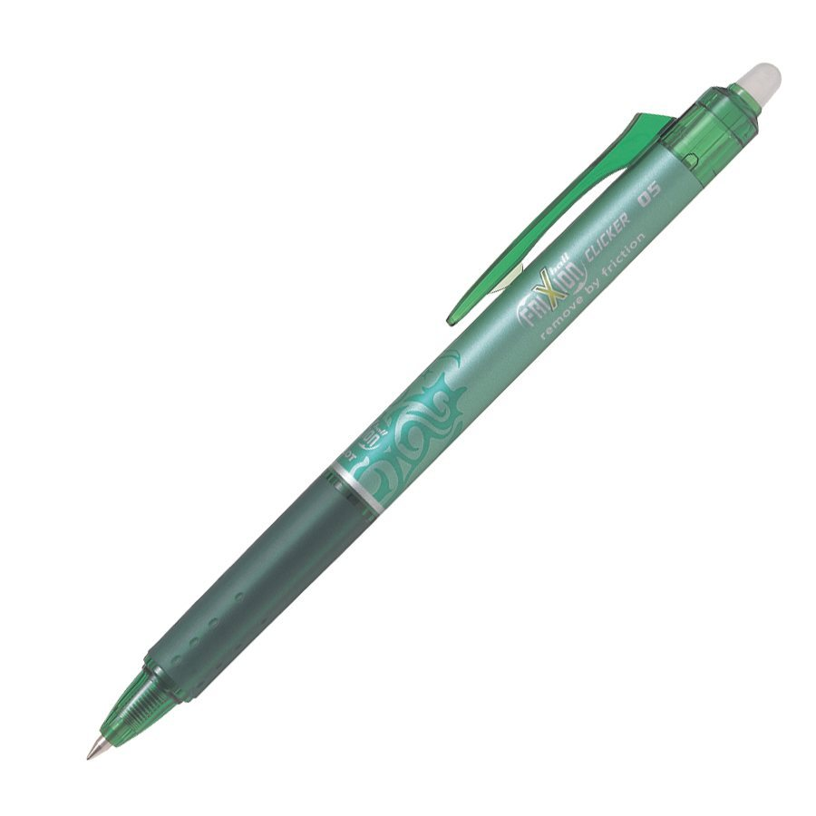 STYLO FRIXION RETRACTABLE 0.5MM VERT