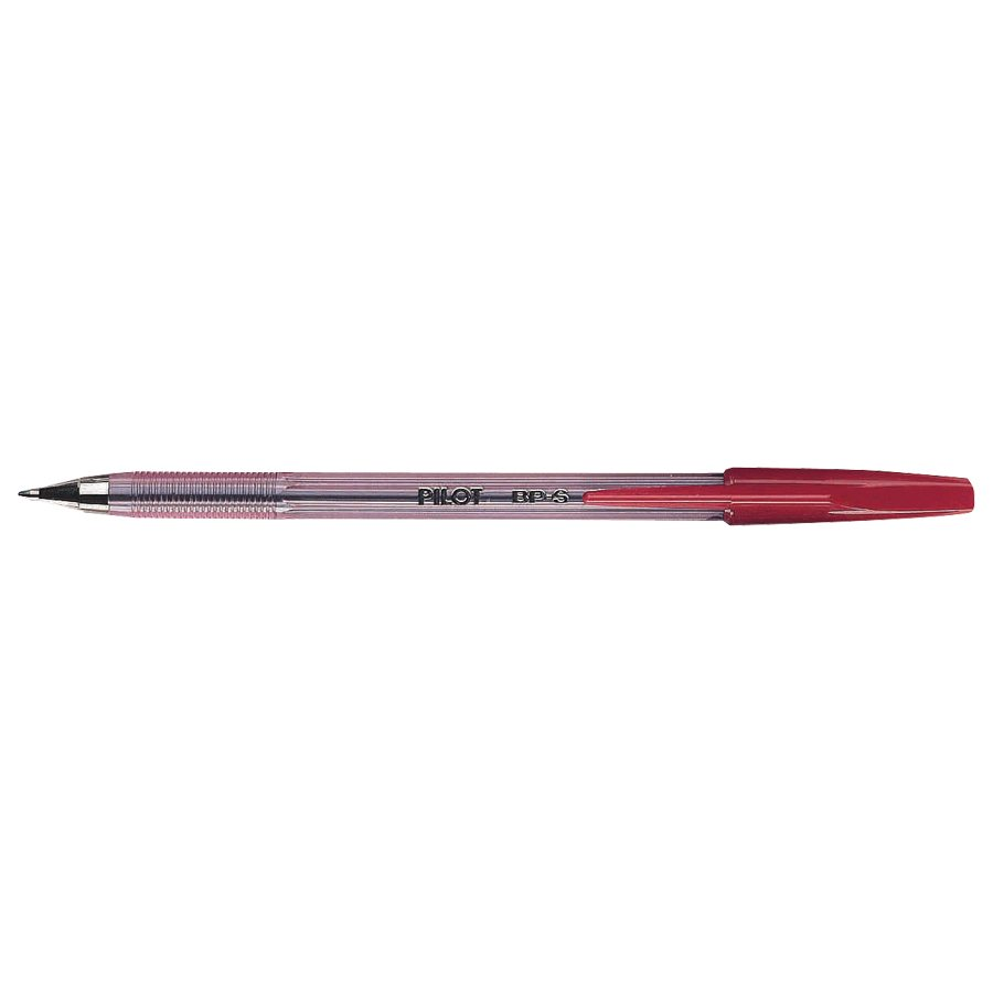 STYLO BPS FIN ROUGE