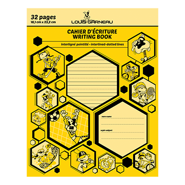 CAHIER INTER./ POINT. JAUNE # 12182