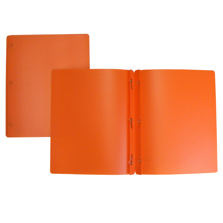 DUO-TANG PLASTIQUE ORANGE