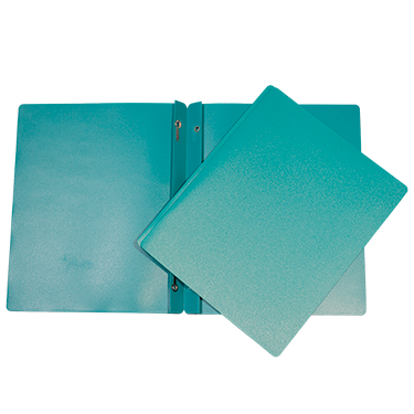 DUO-TANG PLASTIQUE TURQUOISE