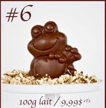 CHOCOLAT AU LAIT GRENOUILLE